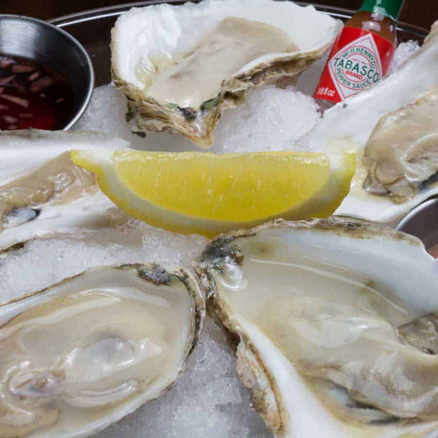 Republic Chophouse Oysters on the Half Shell